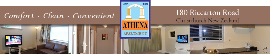 Athena Apartment Christchurch New Zealand